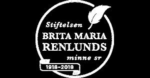 Brita Maria Renlunds logo vit