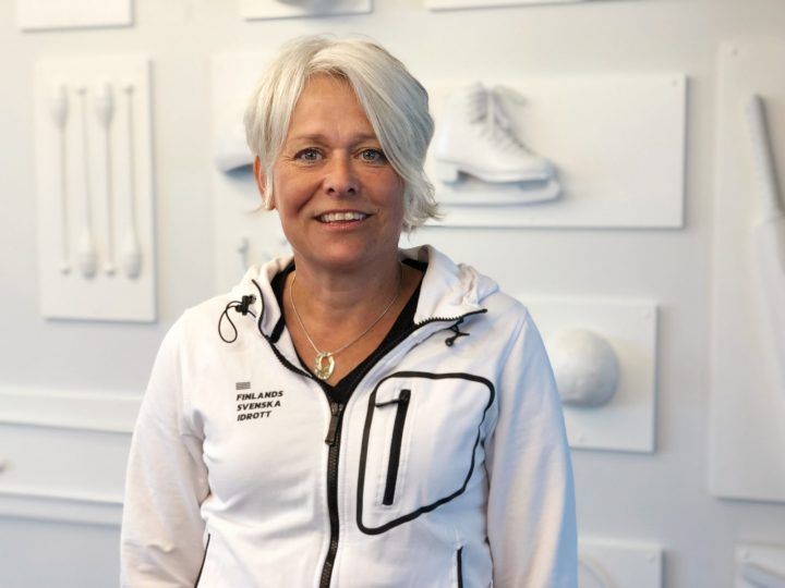 Christel Lundstrom vit liggande profilbild