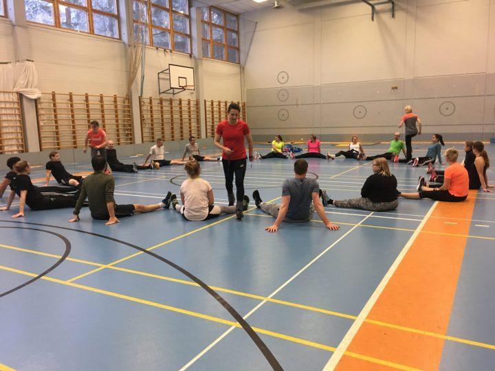 Lärare på fortbildning i Varala