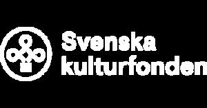 Svenska kulturfonden liggande vit