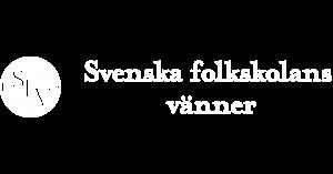 Svenska Folkskolans vänner logo vit