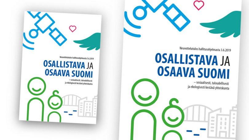 Osallistava ja osaava Suomi mockup